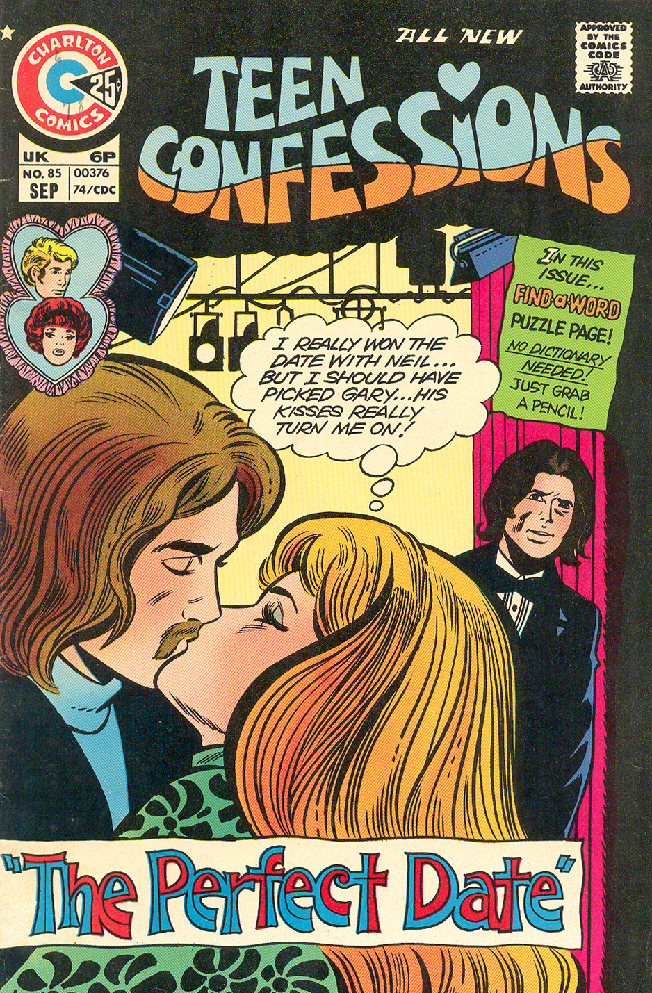 Teen Confessions  #85 (September 1974)