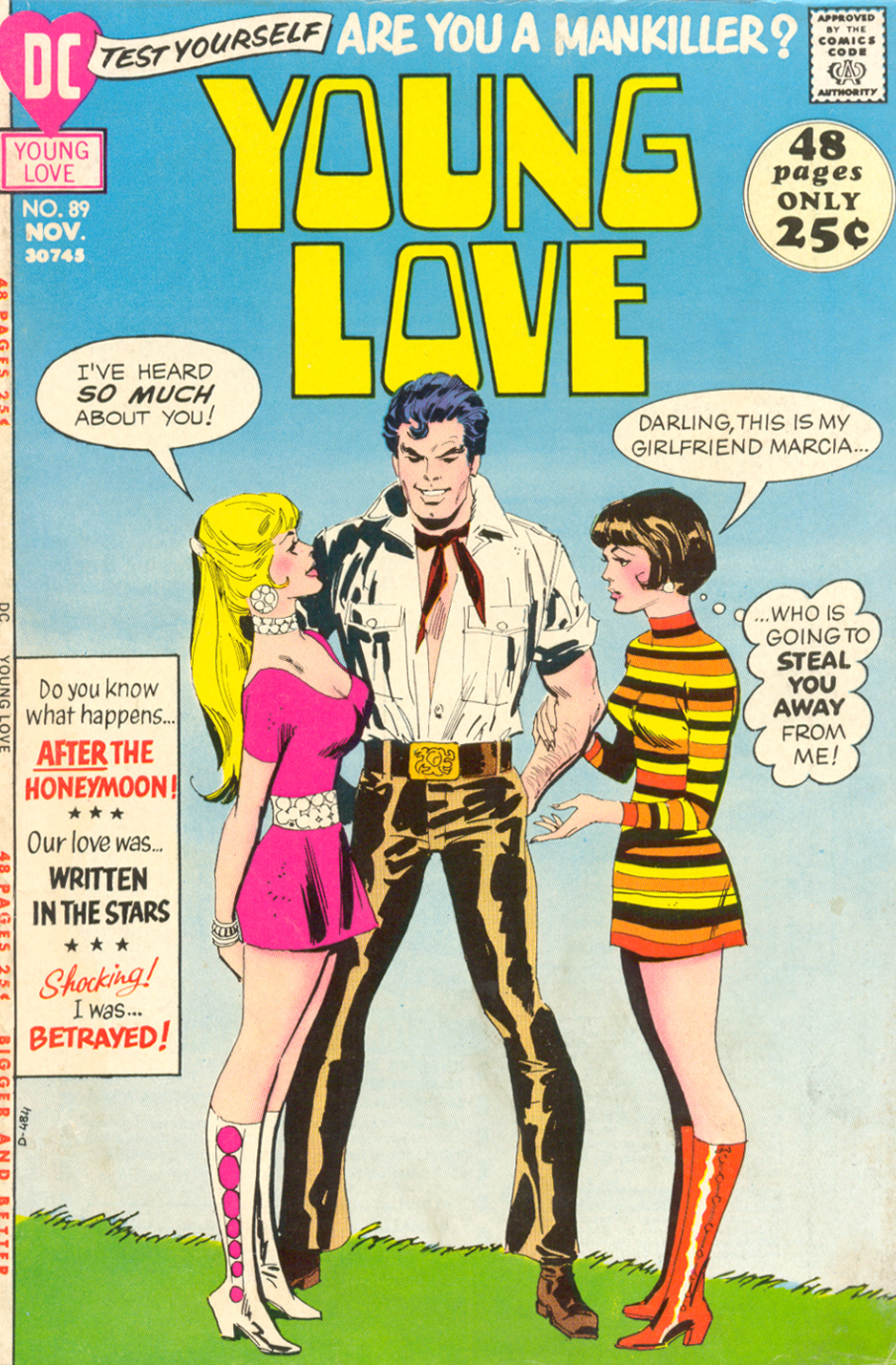 Young Love #89 (November 1971) Pencils: Don Heck, Inks: Dick Giordano