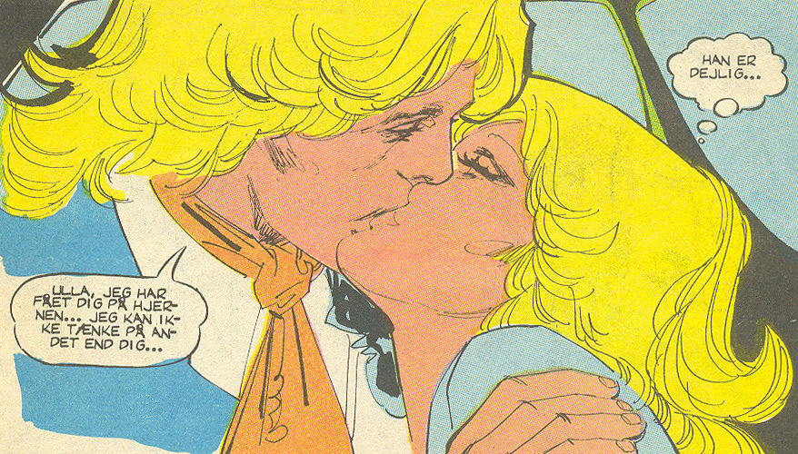 Love  #7 (1979) was the only issue I found that was in full color.