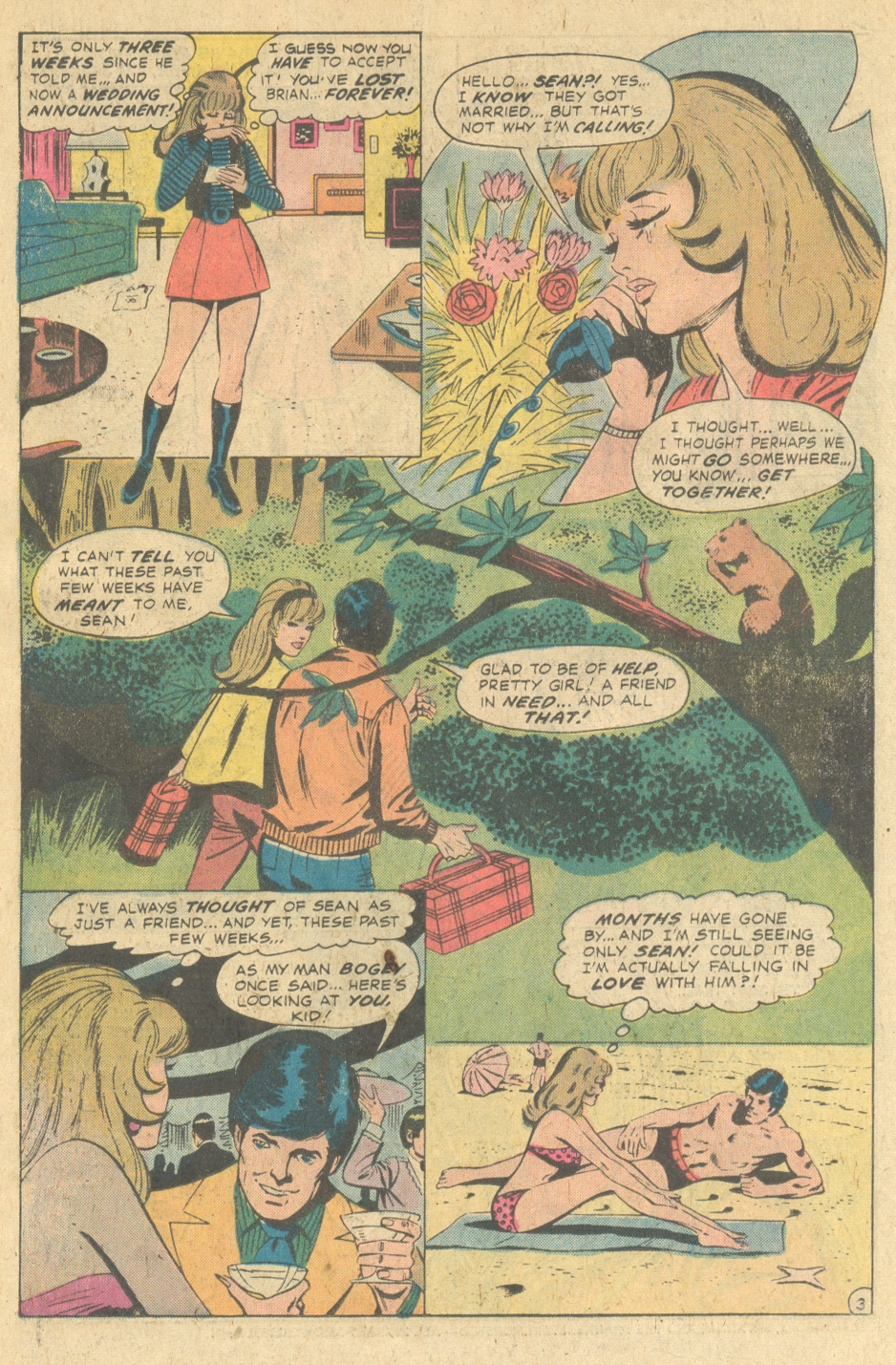 """Love on the Rebound!""  Our Love Story  #30 (October 1974)"
