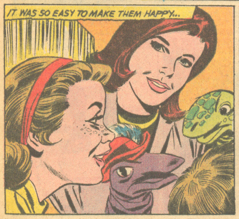 """Here to Stay"" Heart Throbs #103 (August/September 1966)"