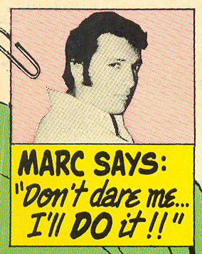 Marc on the Man's Side Romance Comics