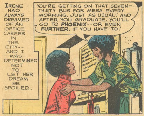 The  Bechdel Test  as applied to romance comics!
