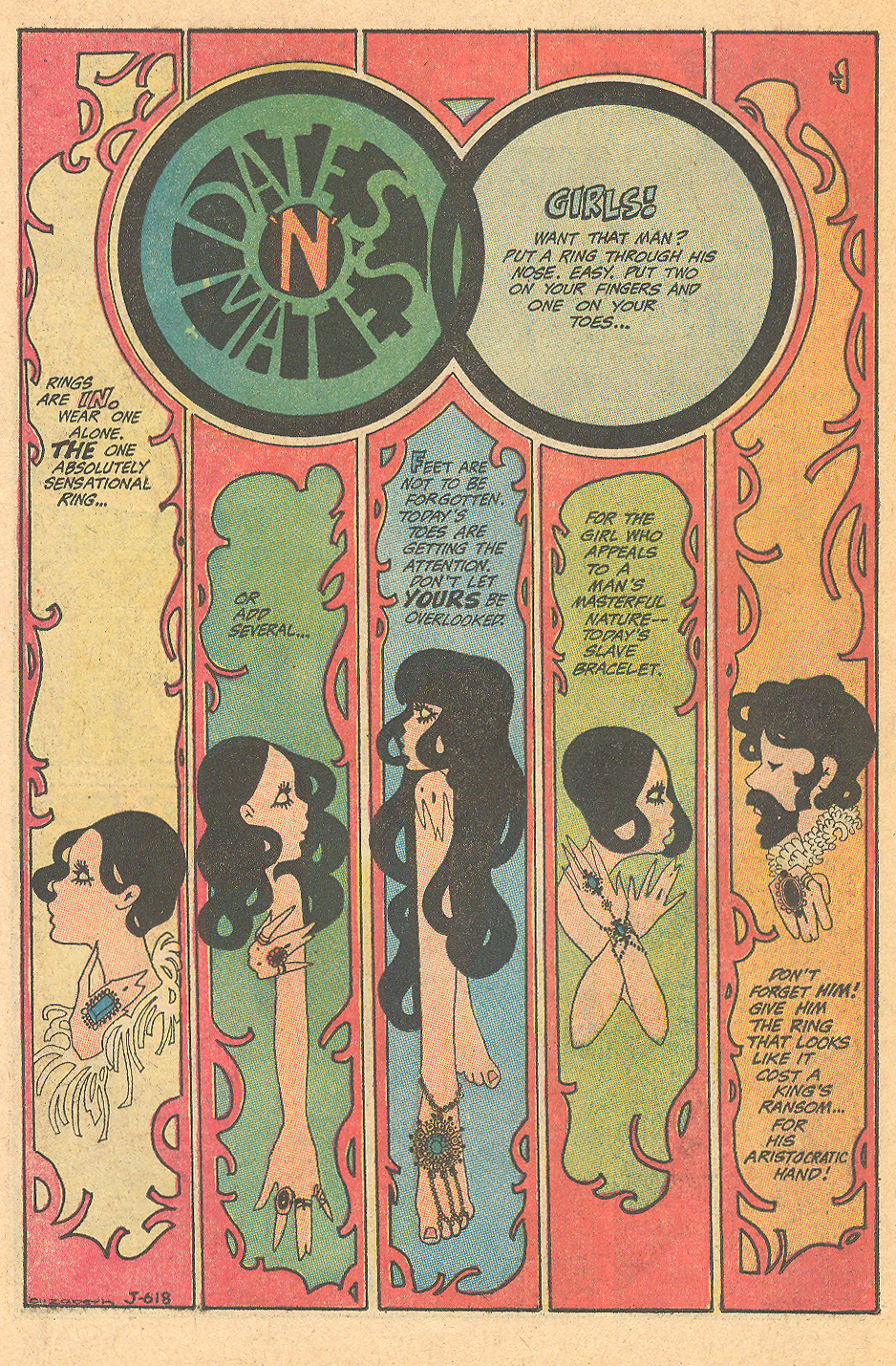 """Dates 'n' Mates"" Girls' Love Stories #149 (February 1970)"