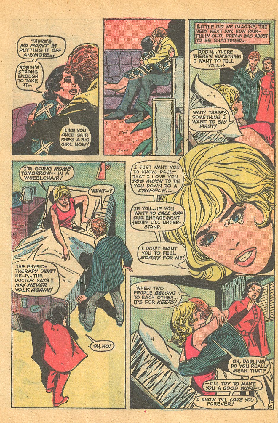 Love Stories romance comic book sequential crush