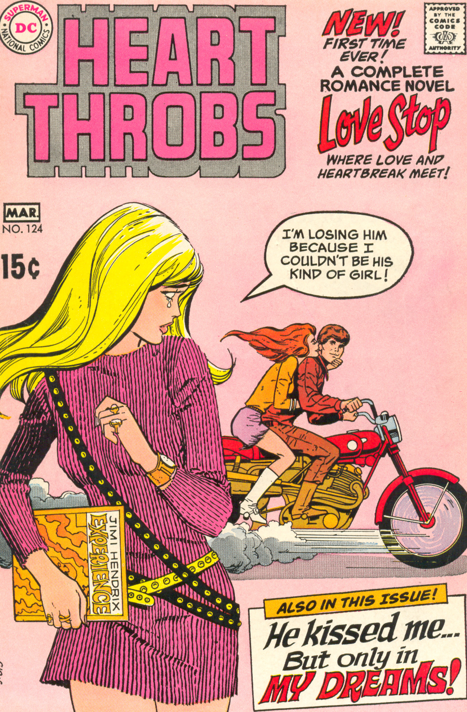 Heart Throbs #124 (February/March 1970)