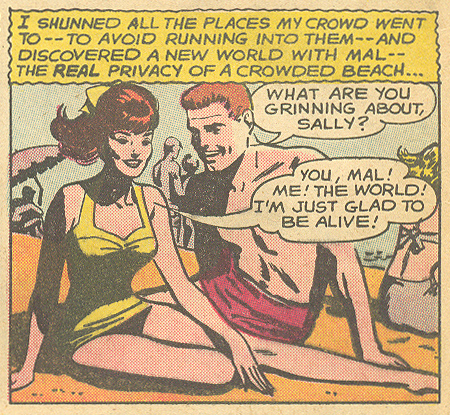 """Don't Bet on Love!""  Falling in Love  #64 (January 1964) Pencils and Inks: Jay Scott Pike"