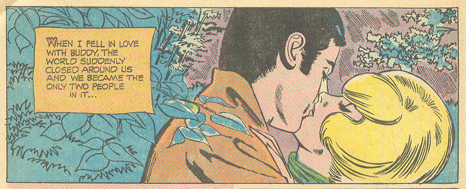 """Cry Alone!""  Heart Throbs  #115 (August/September 1968) Pencils: Tony Abruzzo"