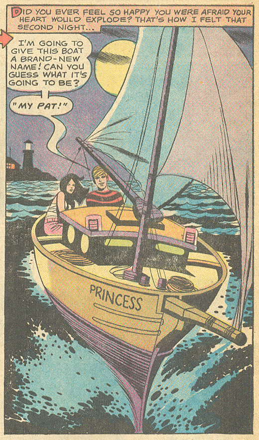 """Easy to Kiss"" Girls' Romances #145 (December 1969)"