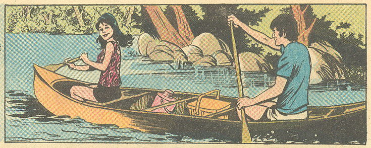 """Tame a Wild Heart""  Girls' Romances  #151 (September 1970) Pencils: John Rosenberger"