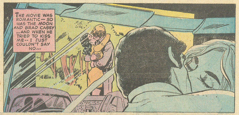 """The Lost Love""  Young Love  #123 (January 1977) Pencils: John Rosenberger, Inks: Vince Colletta"