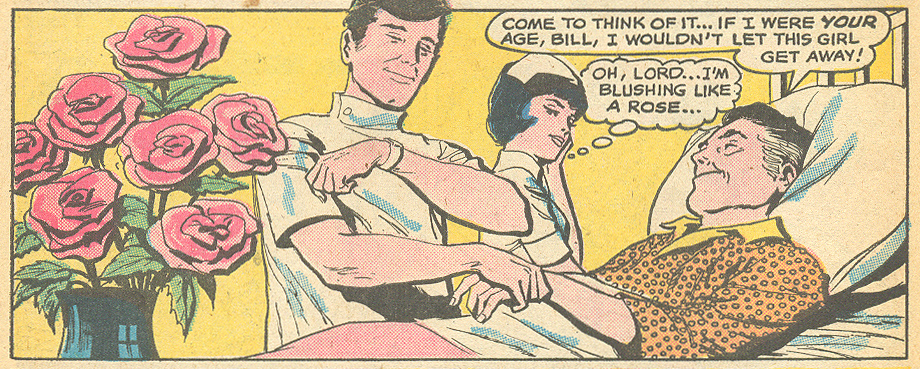 """My First Love Was My Last Love!""  Young Romance  #161 (August/September 1969)"