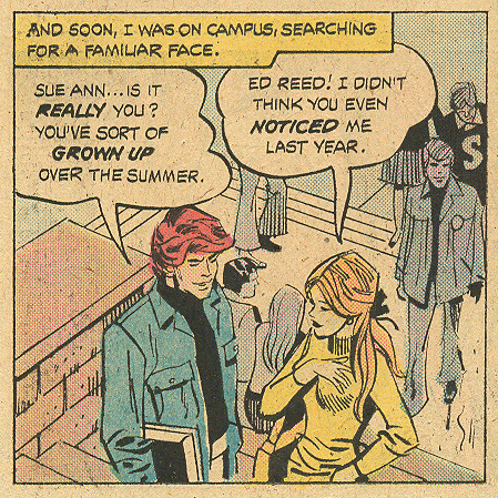 """Don't Bring Him Home""  Young Love  #117 (August/September 1975) Pencils: Creig Flessel"