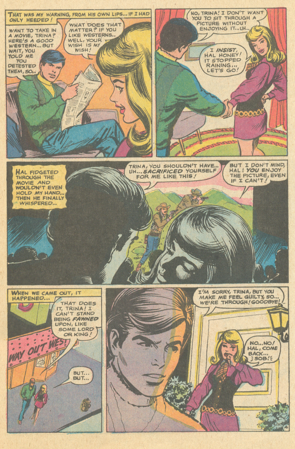 Nick Cardy romance comic books