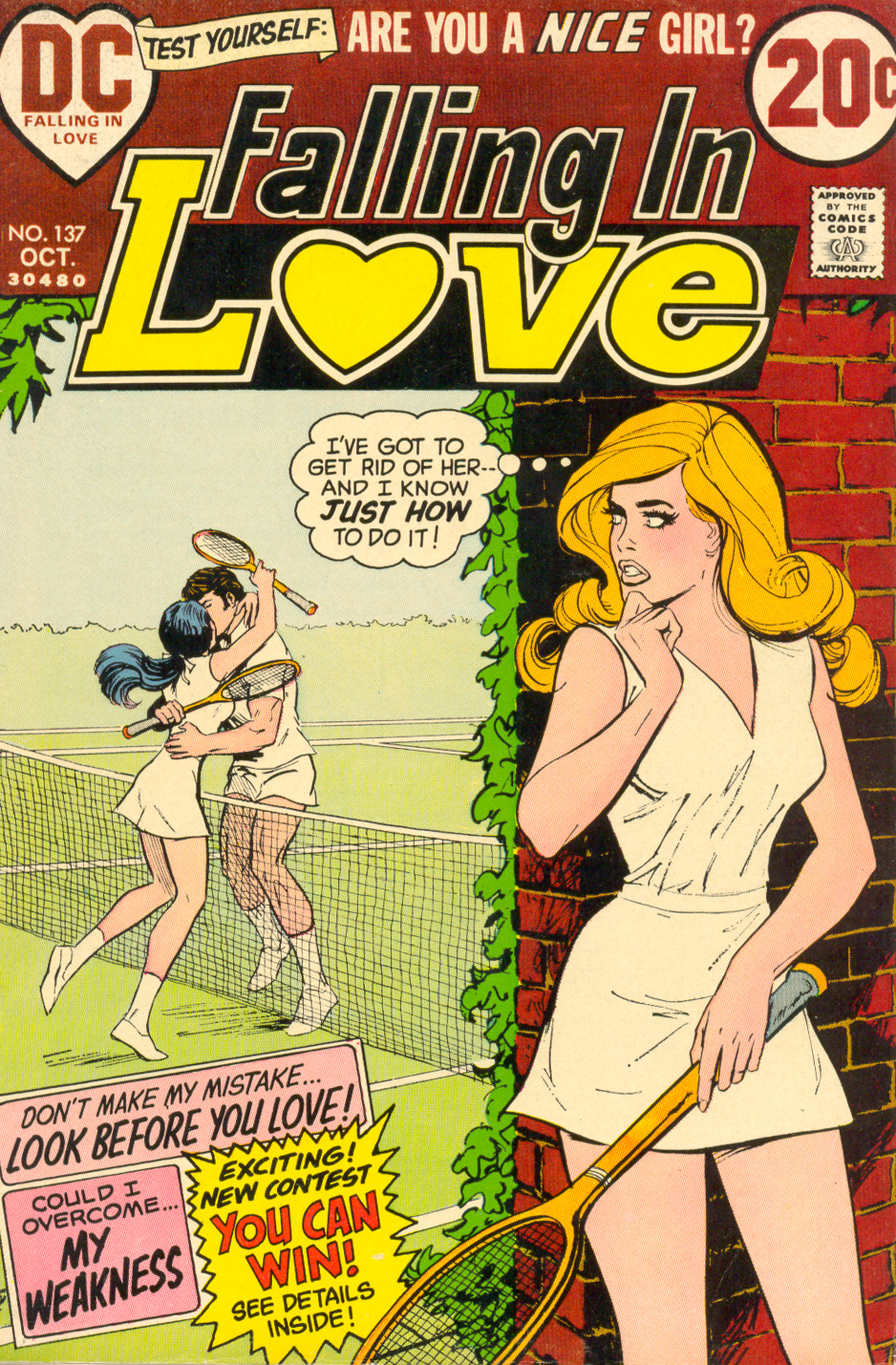 Falling in Love #137 (October 1972)