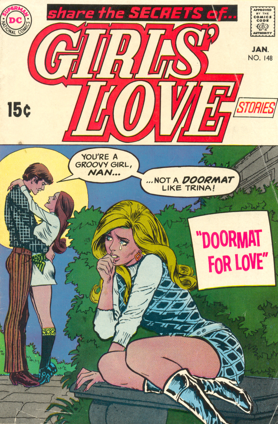 Girls' Love Stories  #148 (January 1970)