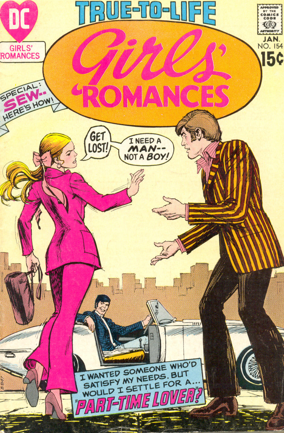 Girls' Romances  #154 (January 1971)