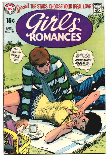 Girls' Romances #148 (April 1970)