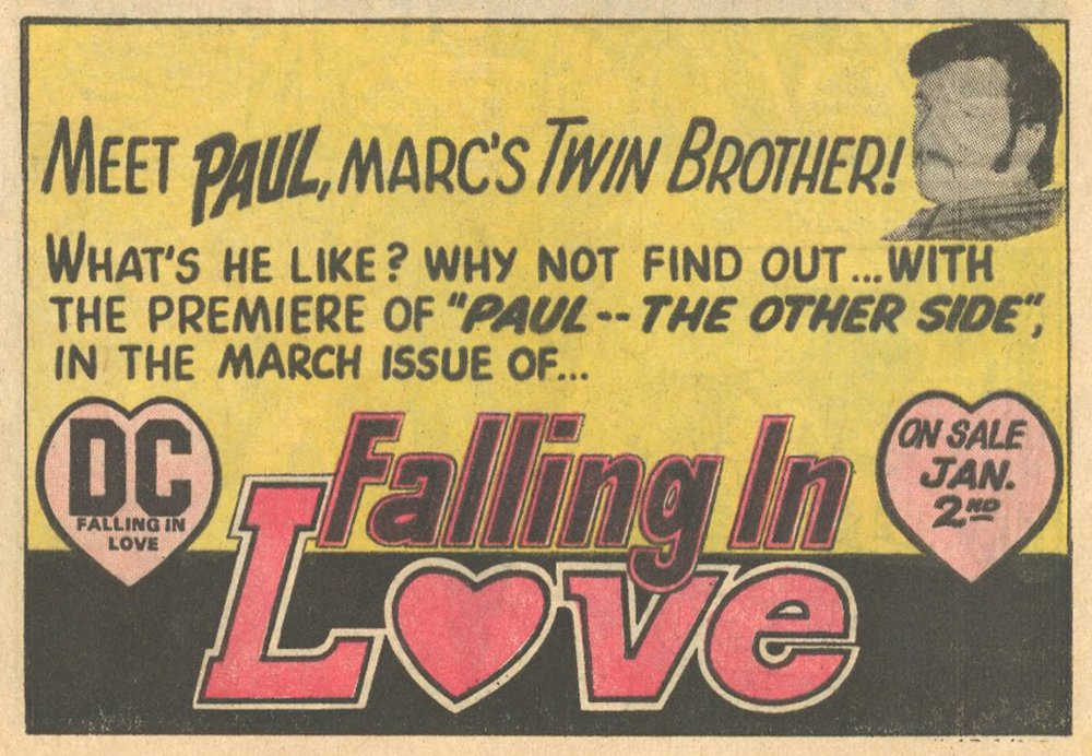 Falling in Love  #139 (January/February 1973)