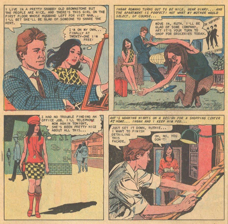José Luis García-López romance comic book Charlton