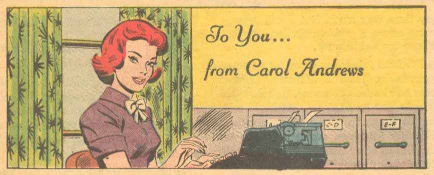 "Carol Andrews ""To You... from Carol Andrews"" (circa 1965)"