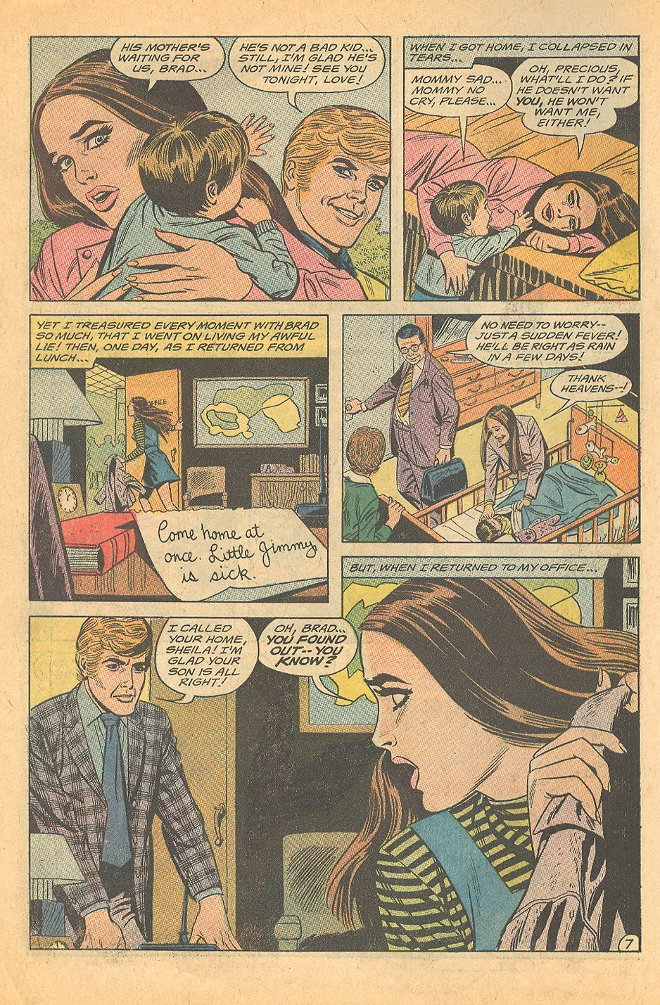 Single Motherhood in Romance Comics - Love Me, Love My Child!