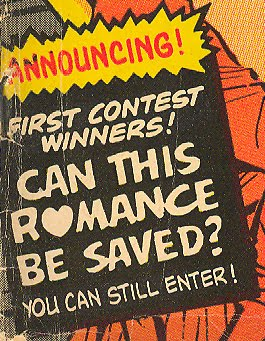 Comic book romance love stories DC Comics