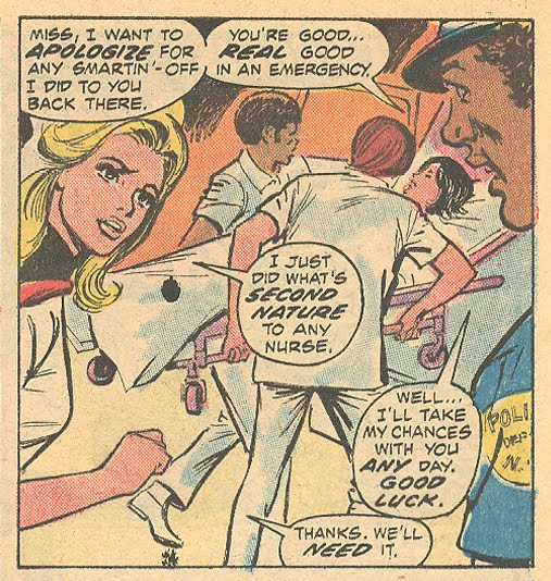 Night Nurse Linda Carter Christine Palmer Georgia Jenkins superhero romance comic book