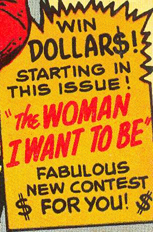 romance comic book contest women