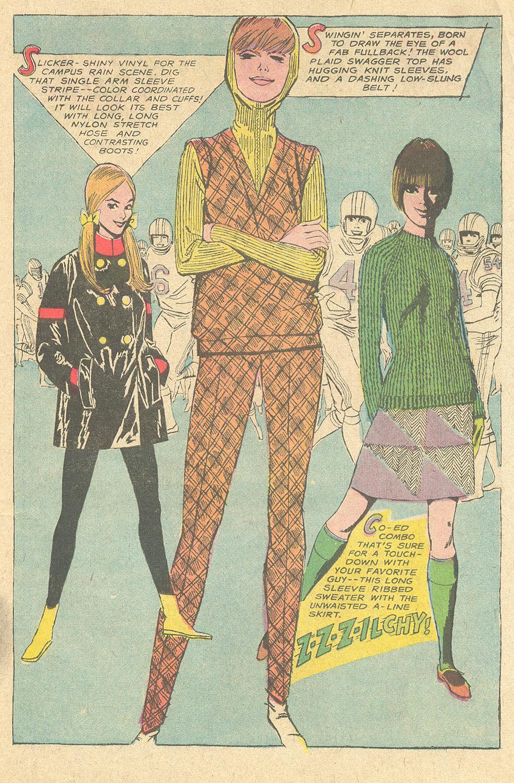Vintage fashions for college girls illustration
