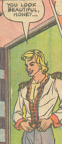 "Too bad his date can't say the same about him... From ""Like Love""  For Lovers Only  #82 (December 1975) Pencils and Inks: Enrique Nieto"