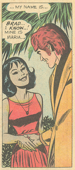 Interracial romance story young romance love stories DC comics