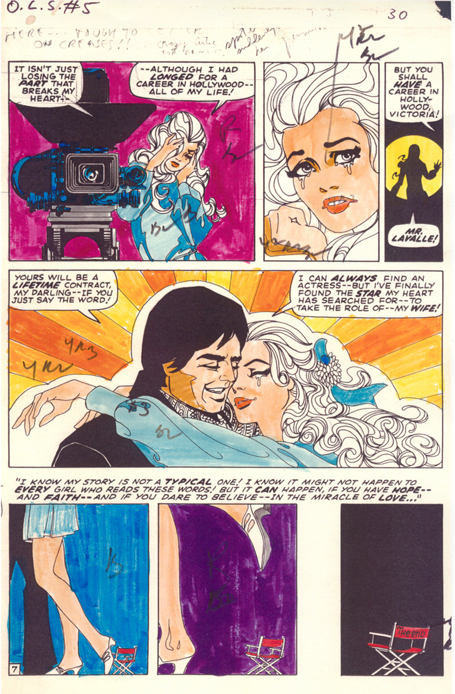 Jim Steranko Oral History comic book history romance comic Marvel Our Love Story #5