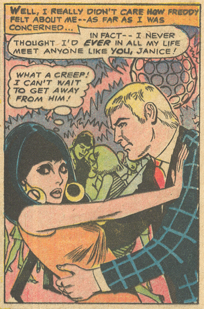DC Comics Girls' Love Stories 1960s romance comic book Tony Abruzzo