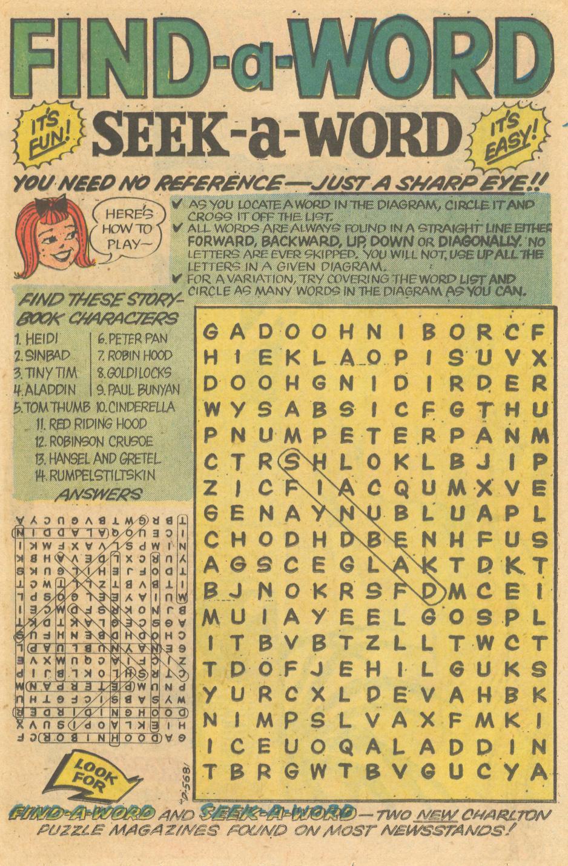 Secret Romance #29 (October 1974)