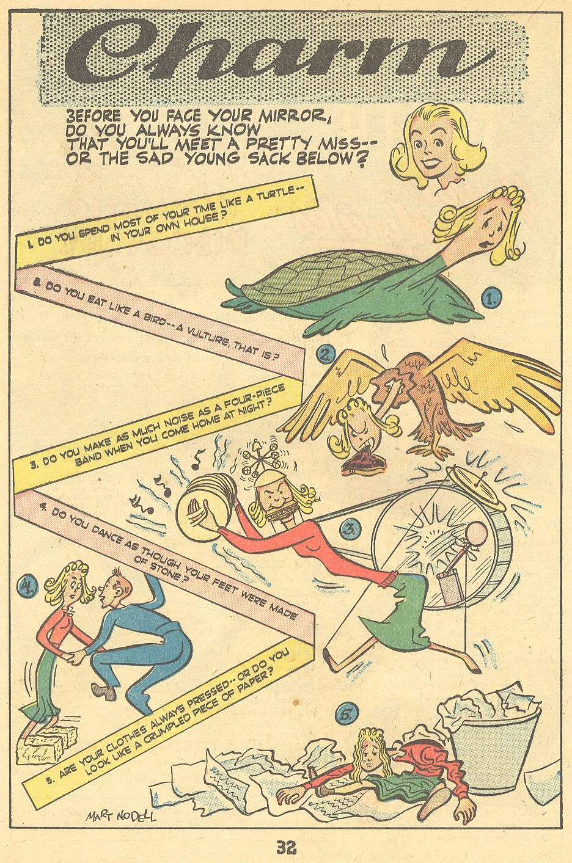 Patsy Walker Miss America romance comic book Mart Nodell Green Lantern