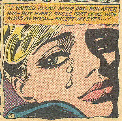 """Love is Two Strangers!"" Secret Hearts #101 (January 1965)"
