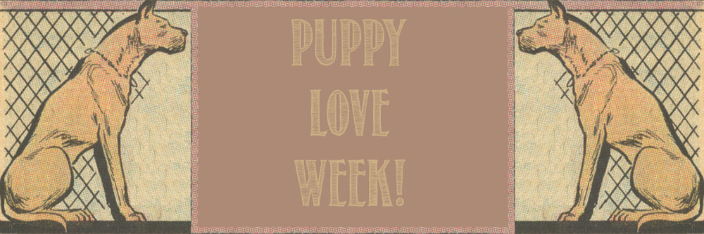 Puppy love week dogs in comic books romance