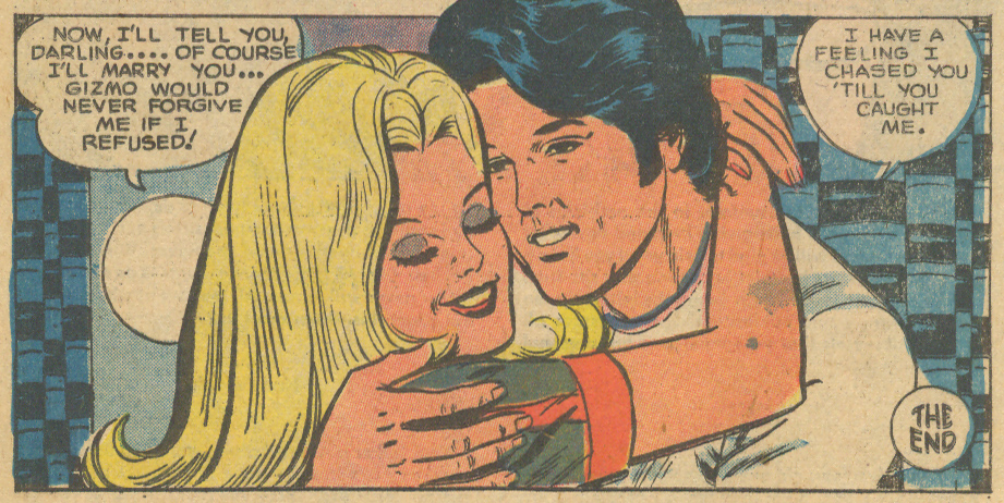 """Another Way to a Man's Heart"" from For Lovers Only #82 (December 1975) romance comic book charlton"