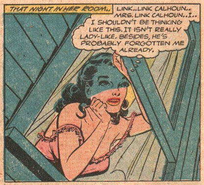 "Fawcett ""Trail to Romance""  Cowboy Love  #10 (June 1950)"