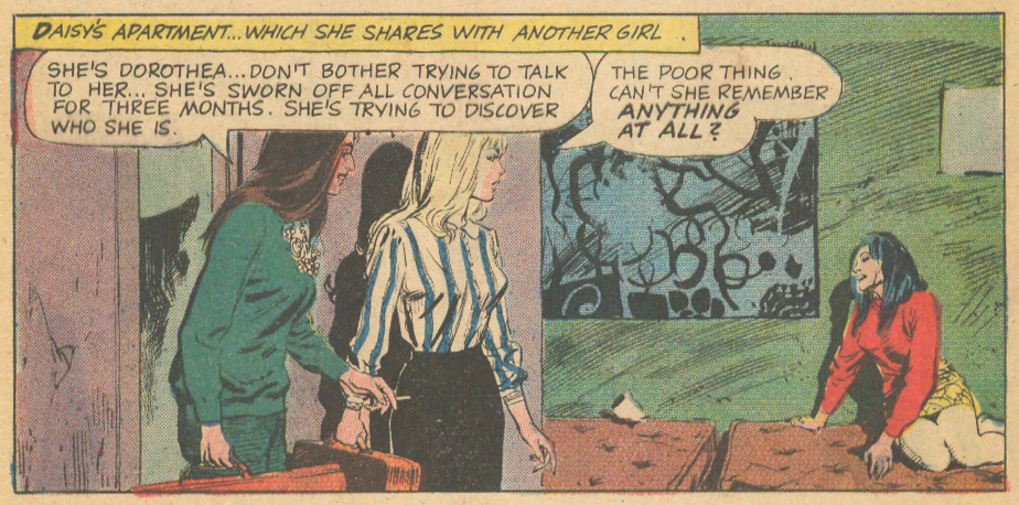 """Love Can't Happen Here""  Romantic Story  #99 (March 1969) Pencils and Inks: Ernesto R. Garcia"