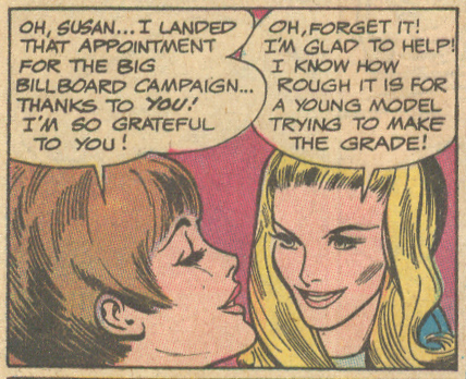 """Abandoned!"" Girls' Love Stories #146 (October 1969) Pencils: Tony Abruzzo"