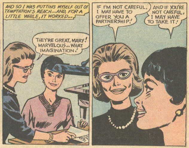 """Journey to Love!"" Secret Hearts #148 (December 1970) Pencils by Jay Scott Pike"
