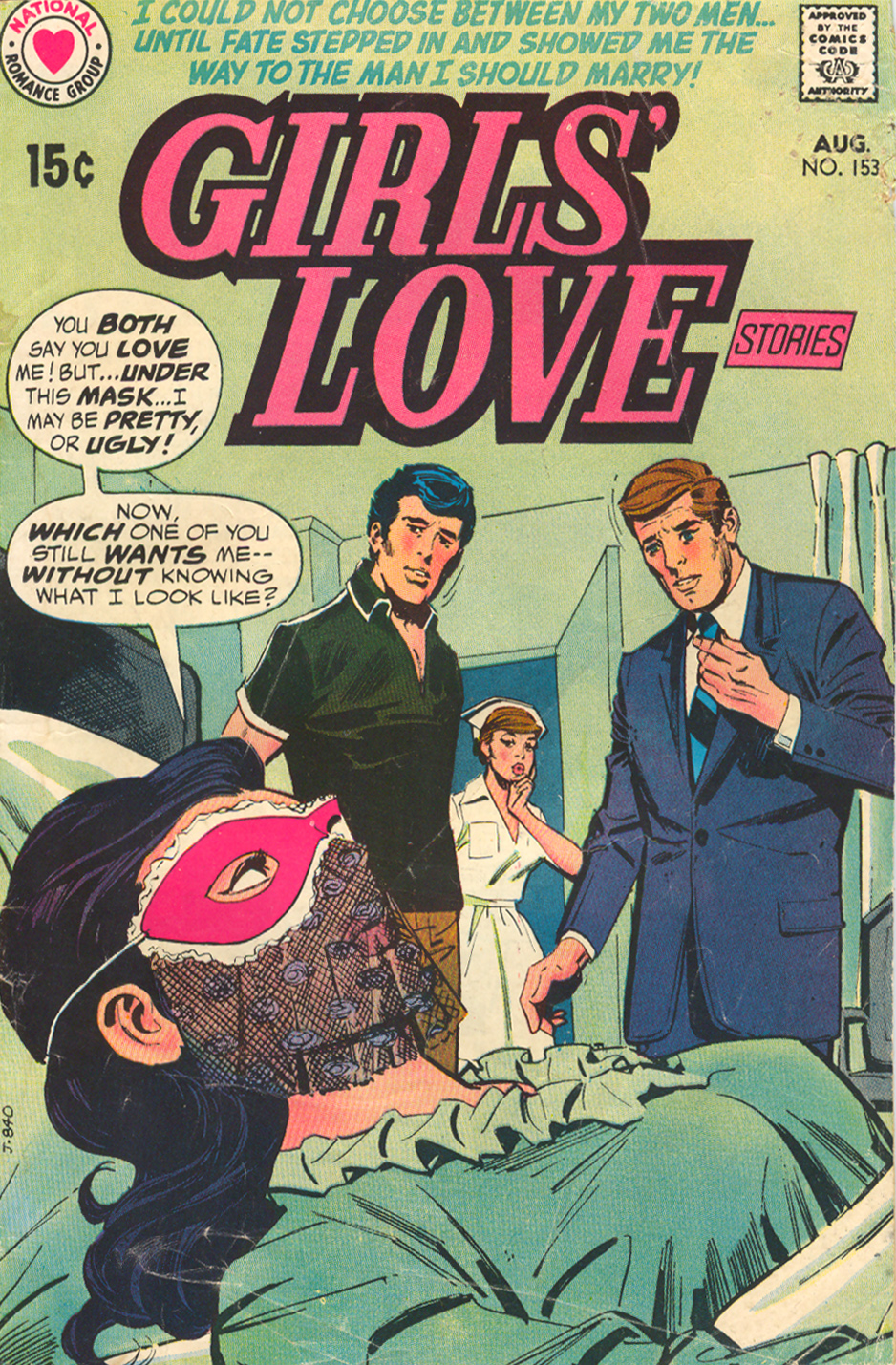 Girls' Love Stories  #153 (August 1970)