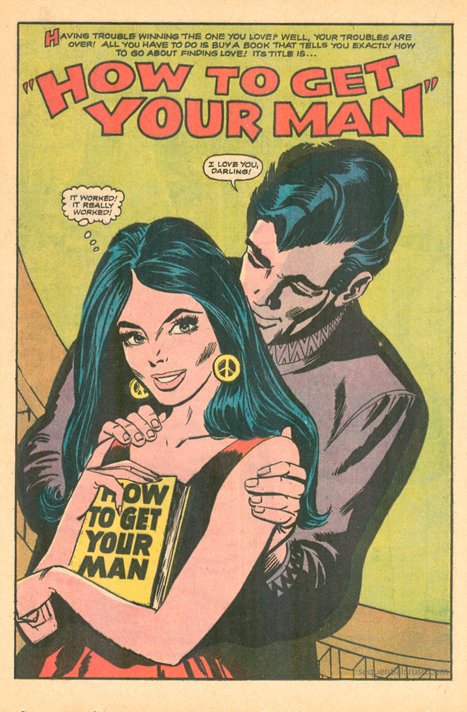 How to get your man romance comic book dc comics girls' romances 139