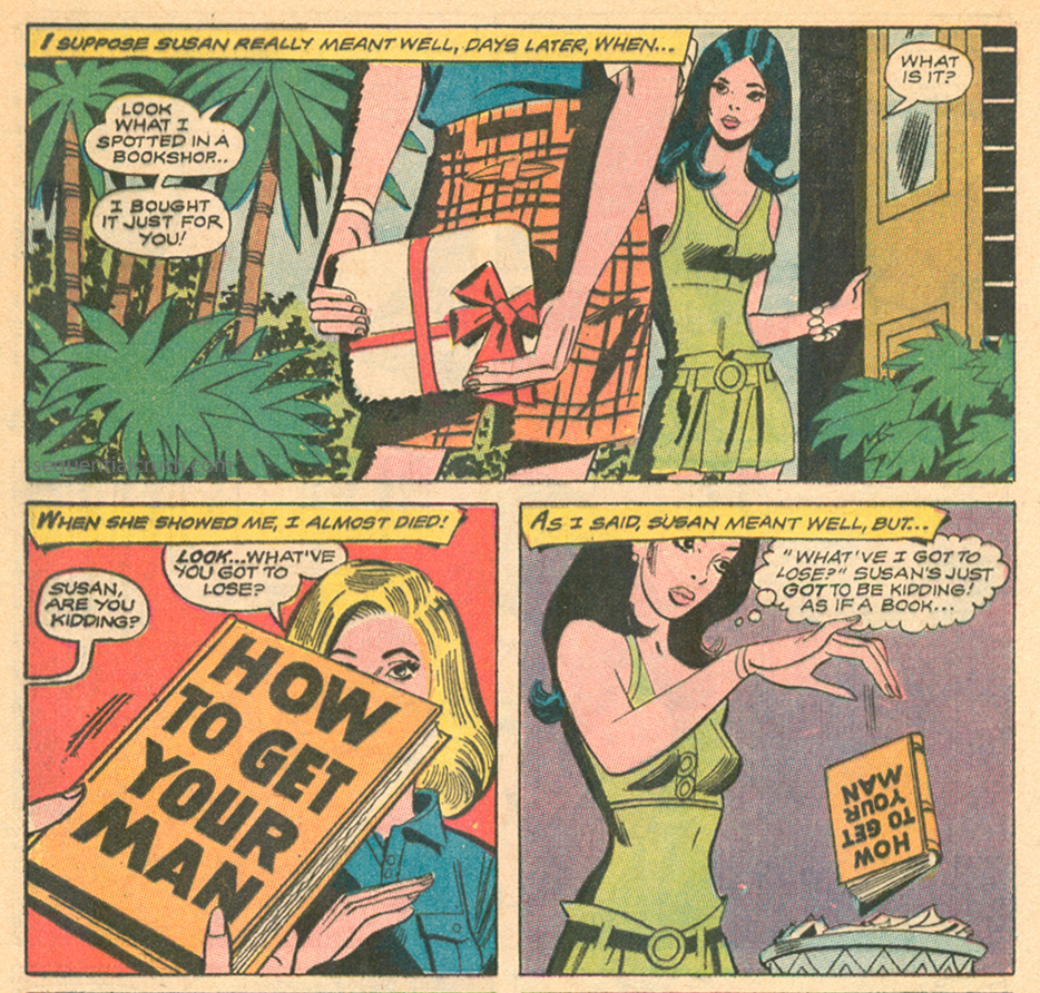 how to get your man romance comic book