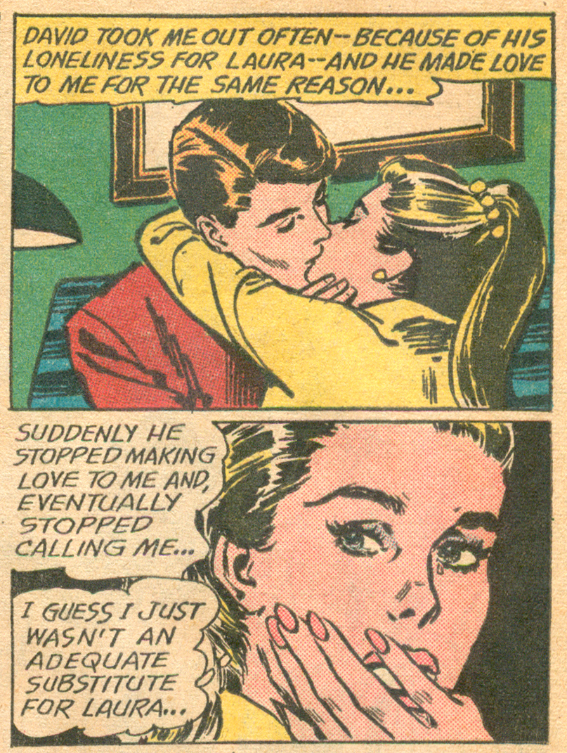 """Come Back My Heart!""  Girls' Romances  #101 (June 1964), Pencils and Inks: Jay Scott Pike, DC Comics."