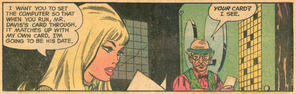"""Made for Each Other!""  Heart Throbs  #130 (February/March 1971), Pencils and Inks: Don Heck, DC Comics."