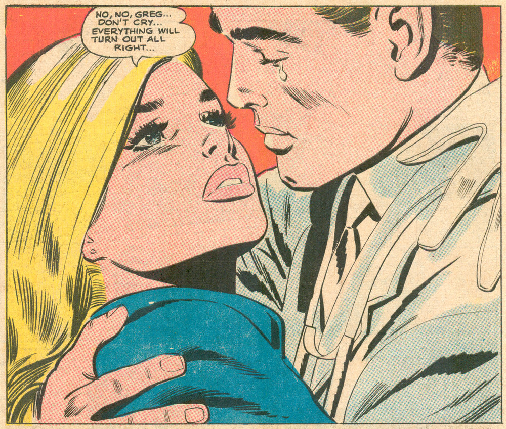 """Reach for Happiness"" (episode 24)  Secret Hearts  #133 (January 1969), Pencils: Jay Scott Pike, DC Comics."
