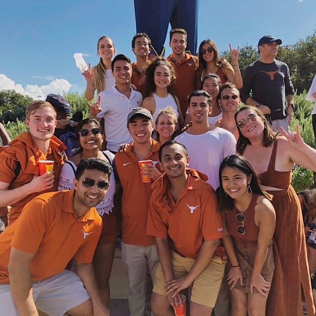 Texas is back, and so were our alumni this weekend!